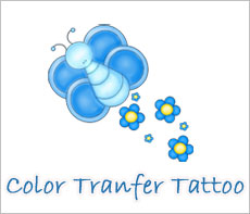 Custom Color Transfer Tattoo
