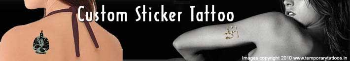 Buzz temporary tatoos for Custom tattoo stickers