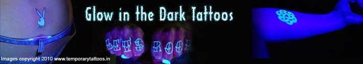 Fake Tattoos, Disco Temporary Tattoos, Glow in Dark Tattoo supplier, UV Tattoo suppliers