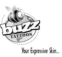 sticker body tattoo & temporary tattoos website logo
